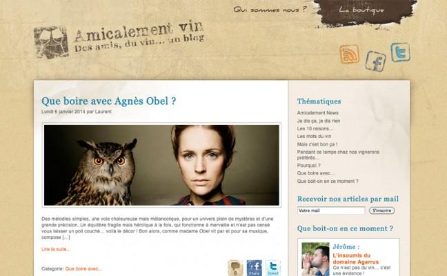 Blog société WordPress