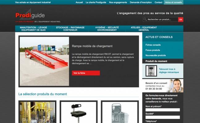 Catalogue produit multi-marque
