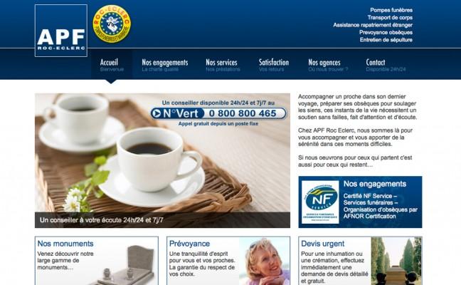 site agence WordPress