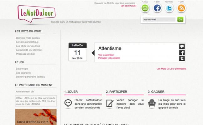 Site publicartion journalière